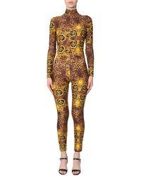 Versace Leo Baroque Print Suit - Multicolour