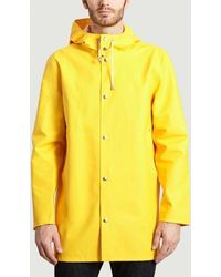 Stutterheim Stockholm Rain Coat - Yellow