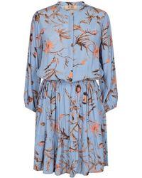Mos Mosh Theresa Thistle Dress - Blue