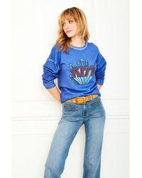 Mkt Studio Sound Kiss Sweatshirt - Blue
