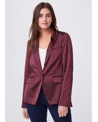 PAIGE Samille Blazer - Fig - Purple