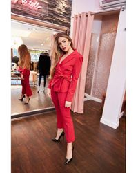 Pinko Suit - Red
