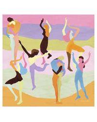 Stine Goya Gerdis Scarf - Dance - Multicolour