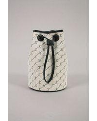 Stella McCartney Monogram Bucket Bag - White