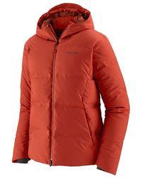 Patagonia - Jackson Glacier Jacket Hot Ember - Lyst