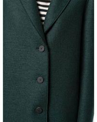 Harris Wharf London - Harris Wharf Pressed Wool Overcoat - Lyst