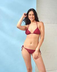 Cia.Marítima - Red Palm Bikini Bottoms - Lyst