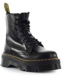 Dr. Martens - Dr. Martens Jadon Smooth Black Boot - Lyst