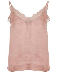 Love Stories - Camelia Silky Camisole Top - Lyst
