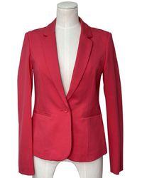 Rosemunde Jacket Is Strawberry - Red
