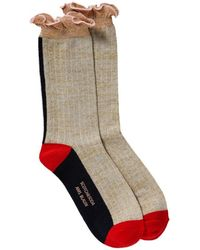 Scotch & Soda Ruffled Socks Combo B - Gray
