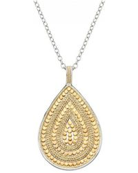 Anna Beck - Beaded Teardrop Necklace - Lyst
