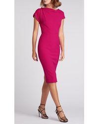 Roland Mouret Brenin Dress - Pink