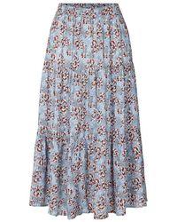 Lolly's Laundry Morning Skirt In Blue
