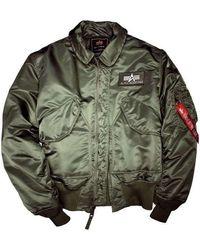 Alpha Industries Flight Jacket Cwu-45 Sage Green