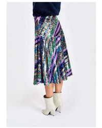 Essentiel Antwerp Salute Skirt - Blue