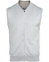 Corneliani Gillet (light Grey) - Gray