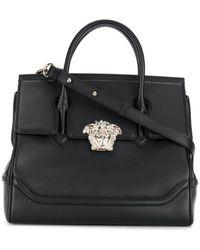 Versace Women's Dbff453ndstvtd41oc Black Leather Handbag