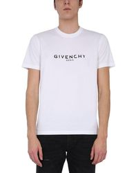 Givenchy Crew Neck T-shirt - White