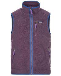Patagonia Retro Pile Vest - Purple