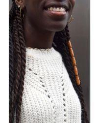 Suncoo - Patrocie Blanc Casse Sweater - Lyst