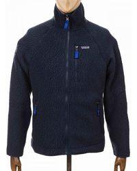 Patagonia Retro Pile Fleece Jacket - New Navy Colour: New Navy - Blue