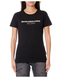 Marco Bologna T-shirt With Black Print