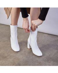 Miista - Adrianne Block Heel Boots - Lyst