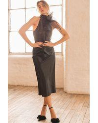 Spirit & Grace Black Agate Skirt