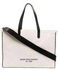 Golden Goose Deluxe Brand Women's Gwa00102a00010410283 White Cotton Handbag
