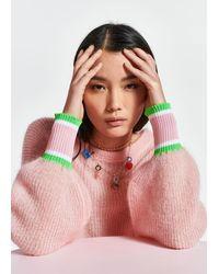 Essentiel Antwerp Mohair And Wool Blend Sweater - Pink