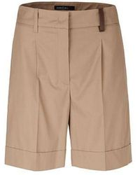Marc Cain Collections Cotton Shorts Clay Nc 83.02 W60 - Brown