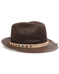Altea Other Materials Hat - Brown