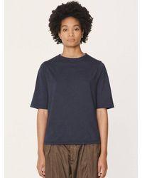 YMC Carlotta T-shirt In Navy - Blue