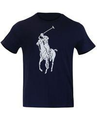 Ralph Lauren Menswear Short Sleeve 26/1 Jersey T-shirt - Blue