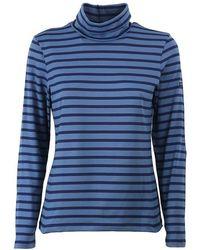 Saint James Oural Blue Long Sleeve Shirt