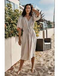 Velvet By Graham & Spencer Susannah Sand Dress - Natural