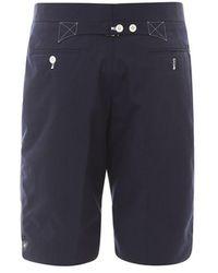 Thom Browne Cotton Bermuda Shorts - Blue
