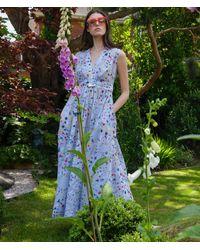 Tallulah & Hope Sleeveless Dress Star Shell / Blue Multi