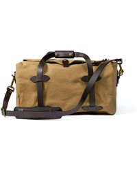 Filson Small Duffle Bag Tan - Brown