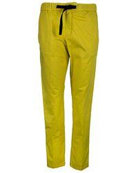 White Sand Marylin Pants - Yellow