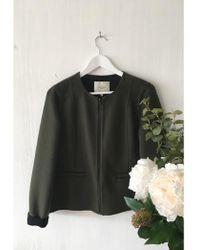 SELECTED - Rosa Wool Jacket - Lyst