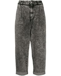 Michael Kors Women's Mh99ct4edx001 Gray Cotton Jeans