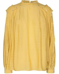 co'couture Cocouture Cora Lemon Blouse - Yellow