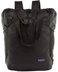 Patagonia Ultralight Backpack Black Hole Tote Pack - Black