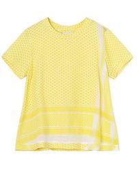Cecilie Copenhagen Shirt 0 Ss 1009 Sunny - Yellow