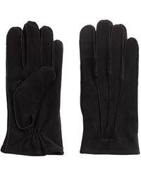 GANT Classic Suede Gloves - Black