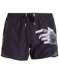 Neil Barrett Swimwear - Black