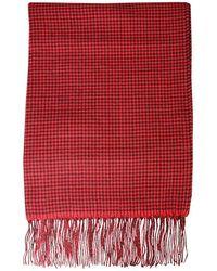 Woolrich Women's Wwac0085frut13625321 Red Scarf