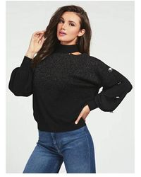 Guess Anna Long Sleeve Colour: Black